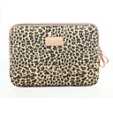 cheap Mac Cases & Mac Bags & Mac Sleeves-Sleeves Sleeve Case Leopard Print Textile for MacBook Air 13-inch / Macbook Pro 13-inch / Macbook Air 11-inch