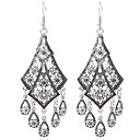 cheap Earrings-Women's Drop Earrings - Sterling Silver, Silver Plated, Gold Plated Tassel Gold / Silver For Party / Daily / Casual