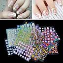 cheap Makeup & Nail Care-30 pcs Fashion 3D Nail Stickers Daily