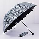 tanie Odzież przeciwdeszczowa-Plastikowy Męskie / Damskie / Dla dziewczynek Parasol przeciwsłoneczny Parasolka Składana
