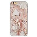 baratos Lentes para Celular-Capinha Para Apple iPhone X / iPhone 8 / iPhone 7 Estampada Capa traseira Mármore Macia TPU para iPhone X / iPhone 8 Plus / iPhone 8