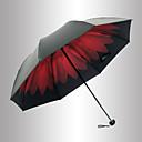 hesapli Aksesuarlar-Plastik Erkek / Kadın's / Genç Kız Güneş Şemsiyesi Katlanan Şemsiye