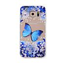 preiswerte Galaxy Note Serie Hüllen / Cover-Hülle Für Samsung Galaxy Muster Rückseite Schmetterling Weich TPU für Note 5 / Note 4 / Note 3