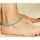 hesapli Kolyeler-Ayak bileziği - Avrupa, Moda Mavi LED Fatıma'nın Eli Uyumluluk Düğün / Parti / Günlük / Kadın's