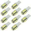 billige Bil Baglygte-10pcs Bil Elpærer SMD 5050 LED Baglygte / Dørlygte / Sidemarkeringslys