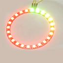 ieftine Ceasuri Smart-smart full-color a condus rgb inel de crab inel lampă regat ws2812 bord rgb 5050 de dezvoltare 24