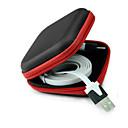 hesapli Cep Telefonu Süsleri-kulaklık kulaklık durumda konteyner kablo kulakiçi saklama kutusu çantası çanta Holde için saklama çantası durumda