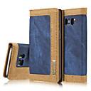 billige Etuier / covers til Galaxy S-modellerne-Etui Til Samsung Galaxy Samsung Galaxy S7 Edge Pung / Kortholder / Med stativ Fuldt etui Ensfarvet Hårdt Tekstil for S7 edge / S7 / S6 edge