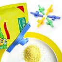 hesapli Saklama Kapları-Şeker tuz mühürleme çantası mühürlü klipsli meme gıda tüpü fermuarlı