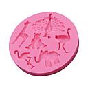 hesapli Anahtarlıklar-Kişiselleştirilmiş Ürünler-Bakeware araçları Plastik Kendin-Yap Kek Pasta Kalıpları 1pc