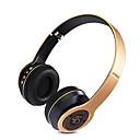 hesapli Kamp Mutfağı-P47 Kulak Üzerindeyim Kablosuz Kulaklıklar Dinamik Plastik Cep Telefonu Kulaklık Ses Kontrollü / Mikrofon ile kulaklık