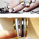 hesapli Makyaj ve Tırnak Bakımı-5 pcs Tırnak Takısı tırnak sanatı Manikür pedikür Günlük Punk / Moda / PVC / Nail Jewelry