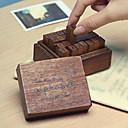 preiswerte Werkzeuge & Maschinen-28pcs Hölzern Holz Party Büro / Geschäftlich Briefmarken Schreibblöcke
