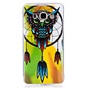 Buy Case Cover Glow Dark IMD Pattern Back Owl Soft TPU Samsung Galaxy J7 (2016) J5 J3 Grand