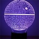 preiswerte Perlen & Perlenstickerei-1 Stück 3D Nachtlicht Dekorativ LED