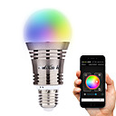 preiswerte LED-Kugelbirnen-YouOKLight 6.5W 500-550 lm E26/E27 Smart LED Glühlampen A60(A19) 8 Leds Hochleistungs - LED Bluetooth Dekorativ Warmes Weiß Kühles Weiß
