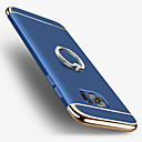 cheap Galaxy S Series Cases / Covers-Case For Samsung Galaxy S7 edge S7 Plating Ring Holder Back Cover Solid Color Hard PC for S7 edge S7