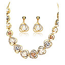 cheap Jewelry Sets-Women's Jewelry Set - 18K Gold Plated, Pearl European Include Gold For Wedding Party Daily