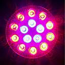 tanie Lampy do hodowli roślin-1620-1800lm E27 Rosnąca żarówka 18 Koraliki LED High Power LED Niebieski Czerwony 85-265V