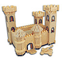 ieftine Cercei-Puzzle Lemn Castel / Clădire celebru / Arhitectura Chineză nivel profesional De lemn 1pcs Cadou