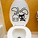 tanie Naklejki i szablony-Streszczenie Rysunek Naklejki Naklejki ścienne lotnicze Dekoracyjne naklejki ścienne Naklejki toaleta, Papierowy Winyl Dekoracja domowa