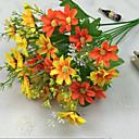 hesapli Araba Ön Farlar-Yapay Çiçekler 1 şube Modern Stil Papatyalar Masaüstü Çiçeği