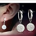 hesapli Küpeler-Resimdeki gibi Resimdeki gibi Küpe - Som Gümüş Gümüş Uyumluluk