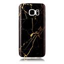 baratos Capinhas para Galaxy Série S-Capinha Para Apple S7 edge S7 IMD Capa traseira Mármore Macia TPU para S7 edge S7 S6 edge S6 S5 S4 S3