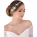 זול תכשיטים לשיער-פנינה / קריסטל / בד Tiaras / רצועות / פרחים עם 1 חתונה / אירוע מיוחד / מסיבה\אירוע ערב כיסוי ראש / סגסוגת