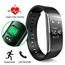 ieftine Trackere de Activitate Smart-Brățară inteligent iOS / Android Rezistent la Apă / Touch Screen / Monitor Ritm Cardiac Senzor de Gravitate / Senzor de Proximitate / Senzor Puls Teak / ABS Negru / Verde / Standby Lung / Pedometre