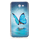 cheap Galaxy J Series Cases / Covers-Case For Samsung Galaxy J7 Prime J5 Prime Glow in the Dark IMD Pattern Back Cover Butterfly Soft TPU for J7 Prime J7 (2016) J7 J5 Prime