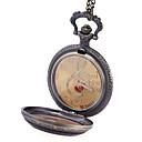 preiswerte Auto Innenleuchten-JUBAOLI Herrn Taschenuhr Quartz Armbanduhren für den Alltag / Legierung Band Analog Freizeit Bronze - Gold Schwarz Orange