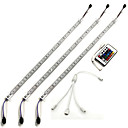 cheap Baking Tools & Gadgets-ZDM® 3m Rigid LED Light Bars 180 LEDs 5050 SMD RGB Remote Control / RC / Dimmable / Waterproof 12 V / IP65 / Linkable