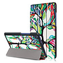 cheap Galaxy S Series Cases / Covers-Case For Lenovo Full Body Cases / Tablet Cases Hard PU Leather for