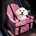 Χαμηλού Κόστους Προμήθειες & Περιποίηση για σκύλους-Γάτα Σκύλος Κάλυμμα Καθίσματος Αυτοκινήτου Dog Pack Κατοικίδια Αντικείμενα μεταφοράς Φορητό Αναπνέει Με δύο πλευρές Μονόχρωμο Γκρίζο Ροζ