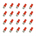 ieftine Lumini de Rulare Zi-20pcs T10 Mașină Becuri 0.8W SMD 5050 55lm LED Bec Semnalizare For Παγκόσμιο