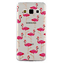 Buy Samsung Galaxy A3 A5 (2017) Case Cover Flamingo Pattern Drop Glue Varnish TPU Material Phone