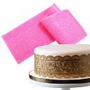 hesapli Fırın Araçları ve Gereçleri-Bakeware araçları Silikon Yapışmaz / Kendin-Yap Kek / Çikolota Pişirme Kalıp 1pc