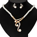 cheap Jewelry Sets-Women's Jewelry Set - Crown Ribbons Include Gold For Wedding / Party / Anniversary