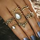 preiswerte Ohrringe-Damen Ring - Aleación Krone Einzigartiges Design, Retro Eine Größe Gold / Silber Für Party / Alltag / Normal / 7tlg