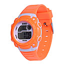 levne Pánské-Pánské Dámské Sportovní hodinky Digitální hodinky Digitální Silikon Modrá / Orange / Růžová 30 m Digitální Oranžová Modrá Růžová