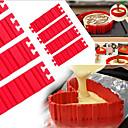 preiswerte Backzubehör & Geräte-Backwerkzeuge Silica Gel Backen-Werkzeug Für Kuchen Kuchenformen 1pc