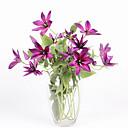 hesapli Bar Gereçleri ve Açıcılar-Yapay Çiçekler 1 şube Pastoral Stil Bitkiler Masaüstü Çiçeği