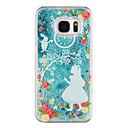 cheap iPhone Cases-Case For Samsung Galaxy S8 Plus / S8 Flowing Liquid / Transparent / Pattern Back Cover Transparent / Cartoon / Glitter Shine Hard PC for S8 Plus / S8 / S7 edge