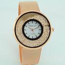 ieftine Becuri LED Corn-Pentru femei Ceasuri din Cristal ceas de aur Quartz Argint / Auriu / Roz auriu imitație de diamant Analog femei Casual Modă - Argintiu Auriu Roz auriu Un an Durată de Viaţă Baterie / Tianqiu 377