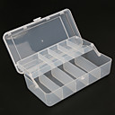 cheap Fishing Boxes-Fishing Tackle Boxes Favor Boxes Tackle Box 2 Trays Plastics 20 cm*10cm*6 cm / Jigging / Sea Fishing / Fly Fishing / Bait Casting / Ice Fishing