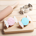 cheap USB Flash Drives-Bakeware tools Stainless Steel For Bread For Pie Cheese 3D Cartoon Sleeping Baby Mold 1pc