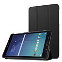 رخيصةأون حافظات / جرابات هواتف جالكسي J-غطاء من أجل Samsung Galaxy Tab E 8.0 غطاء كامل للجسم / حالات اللوحي لون سادة قاسي جلد PU