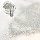 hesapli Makyaj ve Tırnak Bakımı-1 pcs Akrilik toz / Pudra / Parlak Pudra Zarif & Lüks / Pullu ve Işıltılı / Tırnak Parlaklığı Tırnak Tasarımı Tasarımı