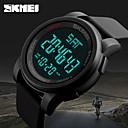 cheap Men's Watches-Men's Sport Watch Military Watch Smartwatch Quartz Digital 50 m Calendar / date / day Creative Cool Silicone Band Digital Charm Casual Fashion Multi-Colored - Black Green Blue Two Years Battery Life
